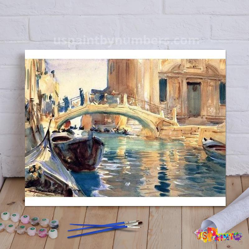 *FREE* Venice - John Singer Sargent Paint By Numbers